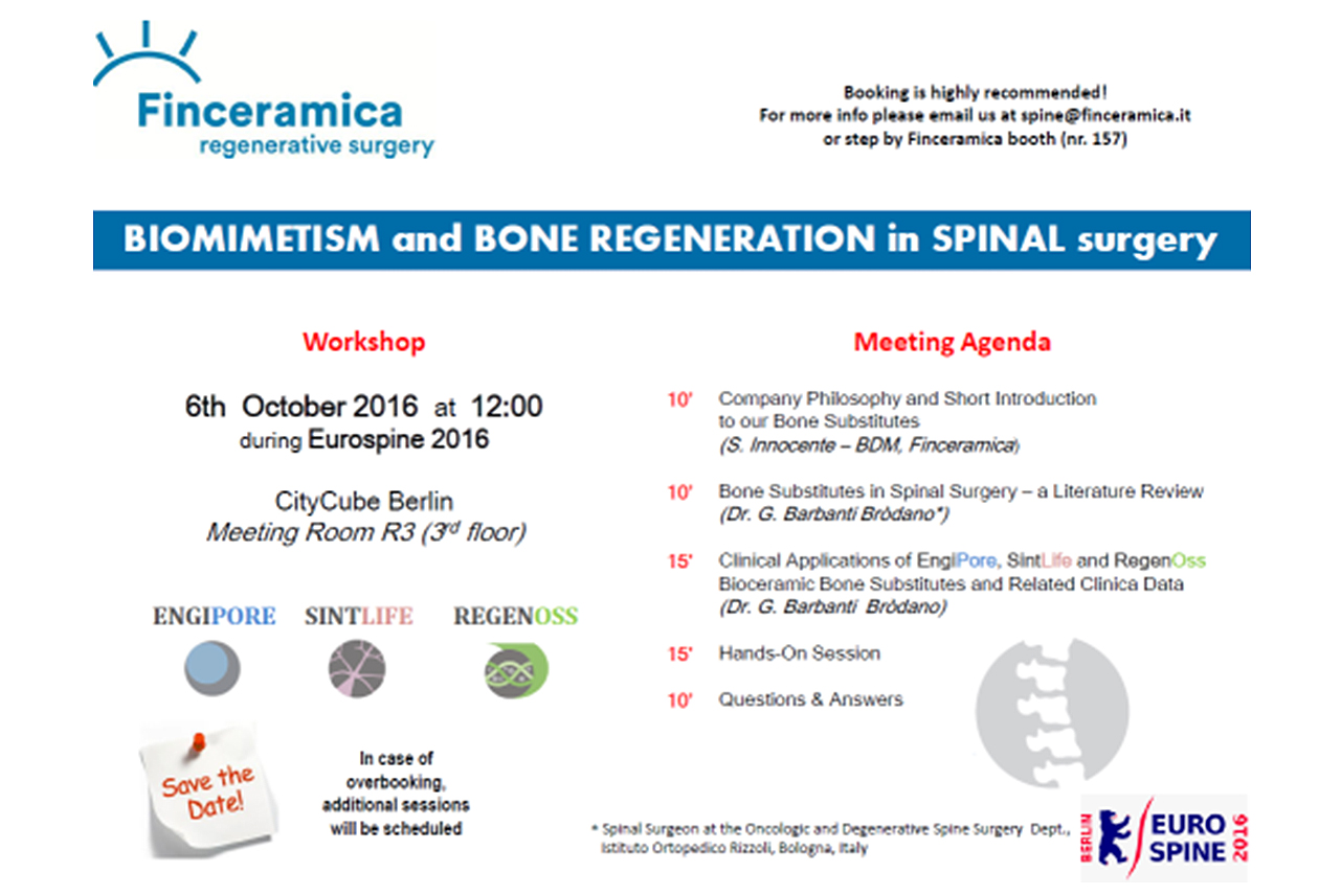 Biomimetism and bone regeneration